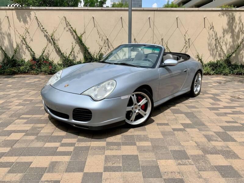 2004 Porsche 911 for sale at ROGERS MOTORCARS in Houston TX