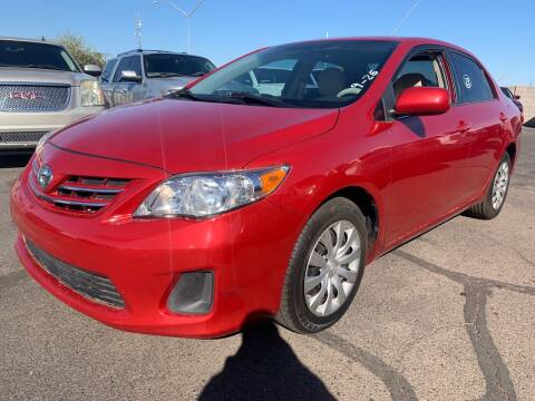 2013 Toyota Corolla for sale at Town and Country Motors in Mesa AZ