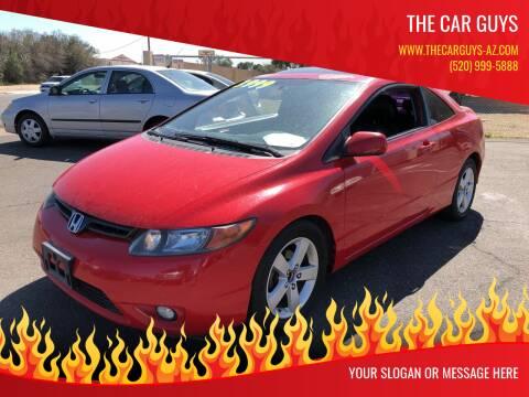 2007 Honda Civic for sale at The Car Guys in Tucson AZ