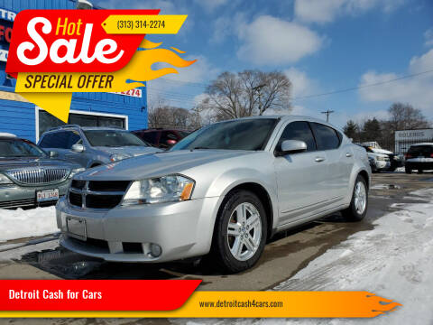 2010 Dodge Avenger for sale at Detroit Cash for Cars in Warren MI