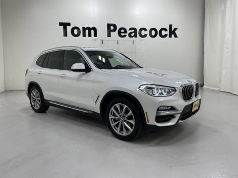 2019 BMW X3 for sale at Tom Peacock Nissan (i45used.com) in Houston TX