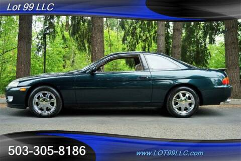 1994 Lexus SC 400 for sale at LOT 99 LLC in Milwaukie OR