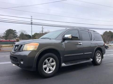2010 Nissan Armada for sale at GTO United Auto Sales LLC in Lawrenceville GA