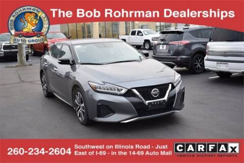 2019 Nissan Maxima for sale at BOB ROHRMAN FORT WAYNE TOYOTA in Fort Wayne IN
