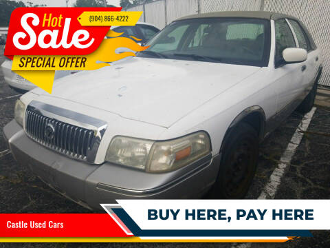 2008 Mercury Grand Marquis for sale at Castle Used Cars in Jacksonville FL