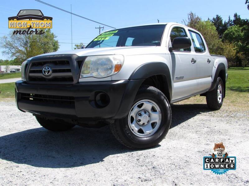 2010 Toyota Tacoma for sale at High-Thom Motors in Thomasville NC