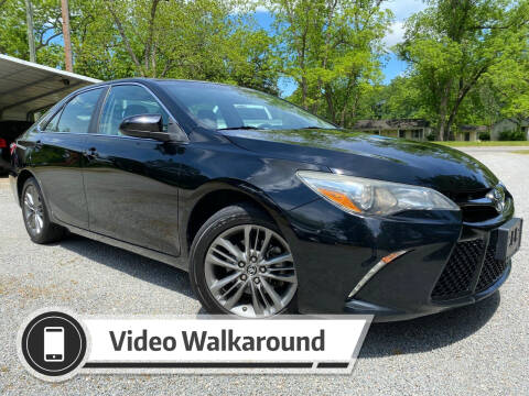 2016 Toyota Camry for sale at Byron Thomas Auto Sales, Inc. in Scotland Neck NC