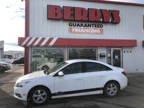 2014 Chevrolet Cruze for sale at Berry's Cherries Auto in Billings MT