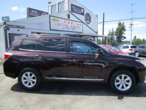 2013 Toyota Highlander for sale at G&R Auto Sales in Lynnwood WA