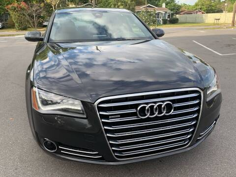 2012 Audi A8 L for sale at Consumer Auto Credit in Tampa FL