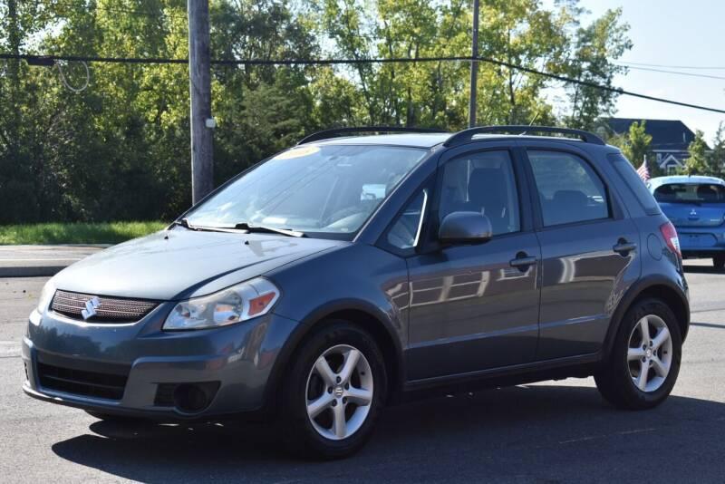 2009 Suzuki SX4 Crossover for sale at GREENPORT AUTO in Hudson NY