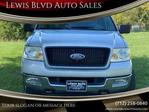 2004 Ford F-150 for sale at Lewis Blvd Auto Sales in Sioux City IA