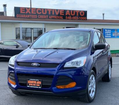 2014 Ford Escape for sale at Executive Auto in Winchester VA