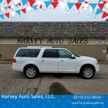 2011 Lincoln Navigator L for sale at Harvey Auto Sales, LLC. in Flint MI