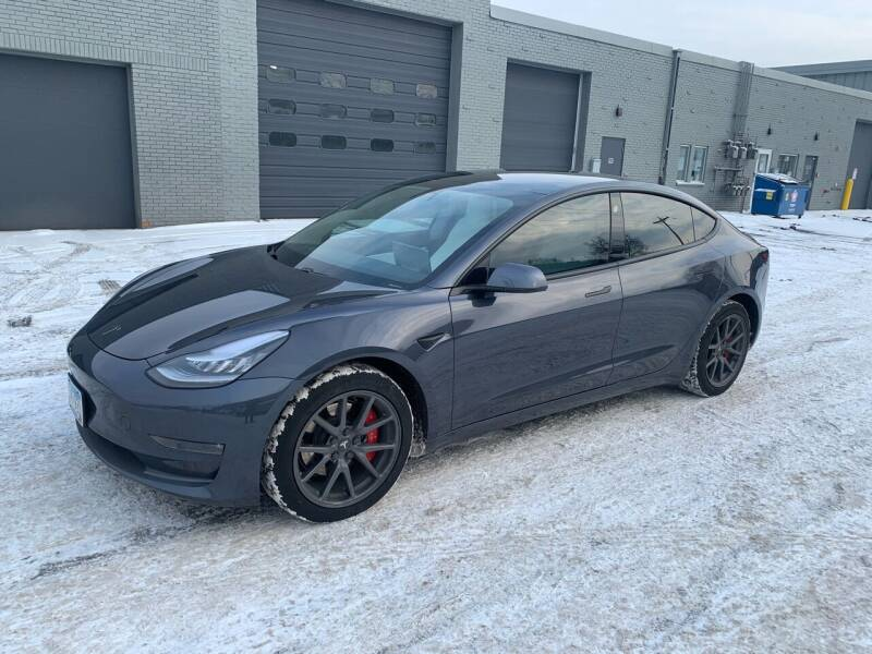 2019 Tesla Model 3 for sale at The Car Buying Center in St Louis Park MN