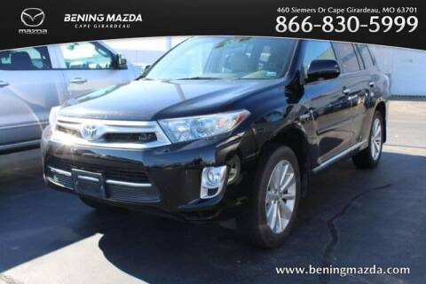 2013 Toyota Highlander Hybrid for sale at Bening Mazda in Cape Girardeau MO