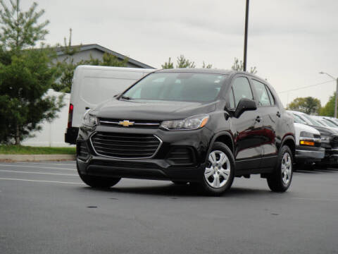 2017 Chevrolet Trax for sale at Jack Schmitt Chevrolet Wood River in Wood River IL