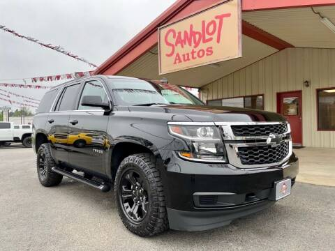 2019 Chevrolet Tahoe for sale at Sandlot Autos in Tyler TX