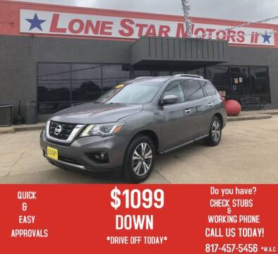 2017 Nissan Pathfinder for sale at LONE STAR MOTORS II in Fort Worth TX