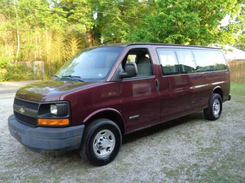 2005 Chevrolet Express Passenger for sale at Liberty Motors in Chesapeake VA