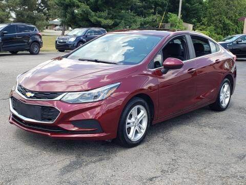 2016 Chevrolet Cruze for sale at Thompson Motors in Lapeer MI