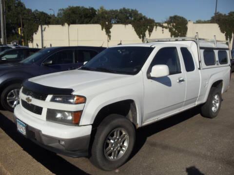 2010 Chevrolet Colorado for sale at Metro Motor Sales in Minneapolis MN