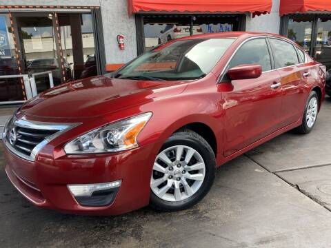2015 Nissan Altima for sale at MATRIX AUTO SALES INC in Miami FL