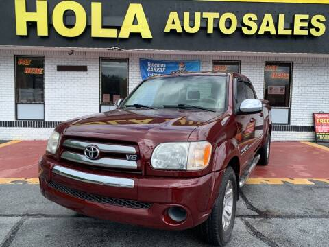 2005 Toyota Tundra for sale at HOLA AUTO SALES CHAMBLEE- BUY HERE PAY HERE - in Atlanta GA