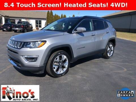 2019 Jeep Compass for sale at Rino's Auto Sales in Celina OH
