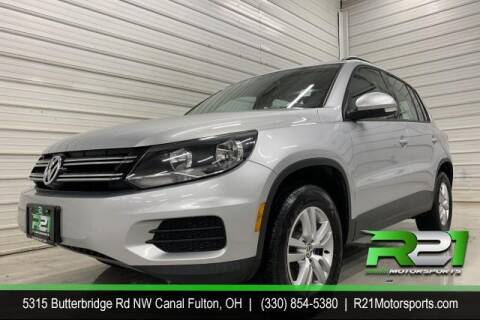 2017 Volkswagen Tiguan for sale at Route 21 Auto Sales in Canal Fulton OH