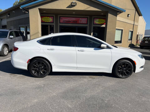 2015 Chrysler 200 for sale at Advantage Auto Sales in Garden City ID