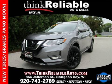 2019 Nissan Rogue for sale at RELIABLE AUTOMOBILE SALES, INC in Sturgeon Bay WI
