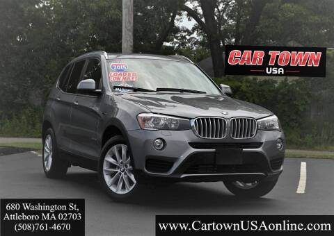 2015 BMW X3 for sale at Car Town USA in Attleboro MA