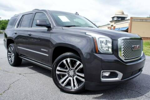 2017 GMC Yukon for sale at CU Carfinders in Norcross GA