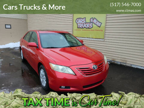 2008 Toyota Camry for sale at Cars Trucks & More in Howell MI