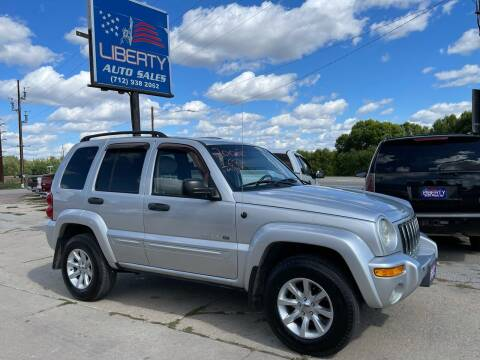 2002 Jeep Liberty for sale at Liberty Auto Sales in Merrill IA