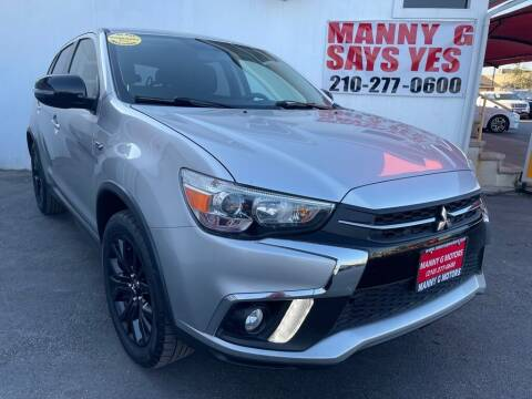 2018 Mitsubishi Outlander Sport for sale at Manny G Motors in San Antonio TX