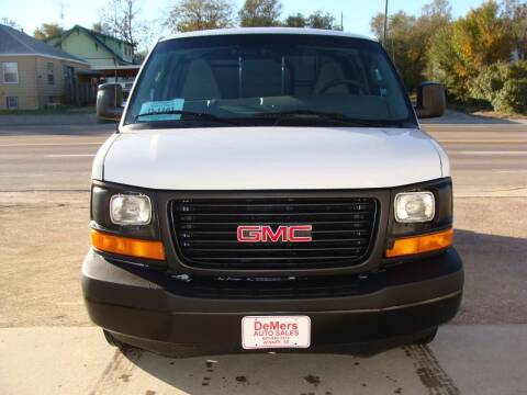 2017 GMC Savana Cargo for sale at DeMers Auto Sales in Winner SD