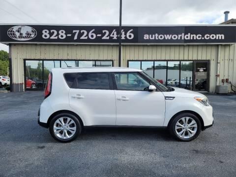 2014 Kia Soul for sale at AutoWorld of Lenoir in Lenoir NC