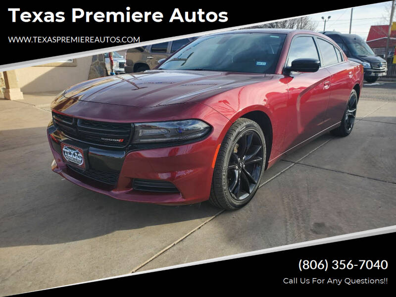 2018 Dodge Charger for sale at Texas Premiere Autos in Amarillo TX