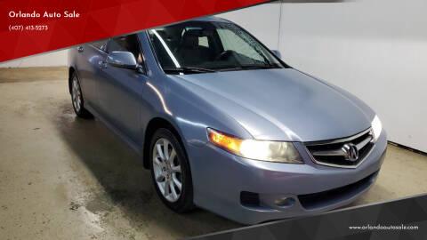 2007 Acura TSX for sale at Orlando Auto Sale in Orlando FL
