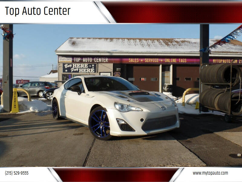 2013 Scion FR-S for sale at Top Auto Center in Quakertown PA