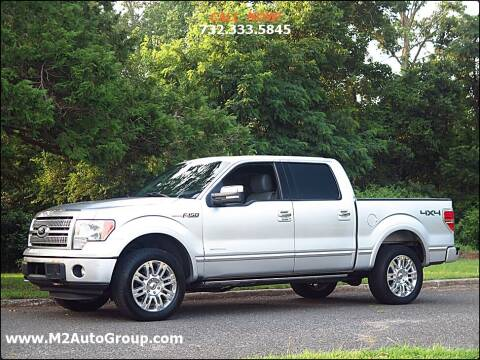 2012 Ford F-150 for sale at M2 Auto Group Llc. EAST BRUNSWICK in East Brunswick NJ