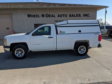 2015 Chevrolet Silverado 1500 for sale at Wheel - N - Deal Auto Sales Inc in Fairbury NE