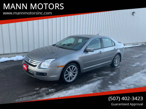 2009 Ford Fusion for sale at MANN MOTORS in Albert Lea MN