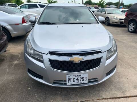 2011 Chevrolet Cruze for sale at 1st Stop Auto in Houston TX
