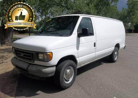 2003 Ford E-Series Cargo for sale at Central Denver Auto Sales in Englewood CO