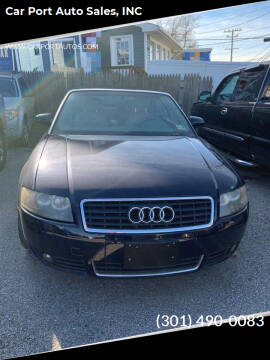 2006 Audi A4 for sale at Car Port Auto Sales, INC in Laurel MD