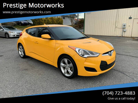 2015 Hyundai Veloster for sale at Prestige Motorworks in Concord NC