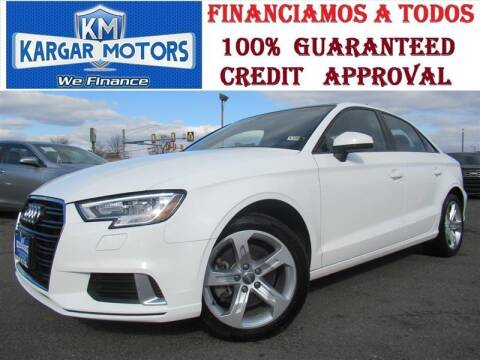 2017 Audi A3 for sale at Kargar Motors of Manassas in Manassas VA